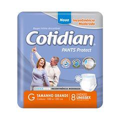 Fralda Geriátrica Softys Cotidian Pants Tamanho G | Com 8 Unidades