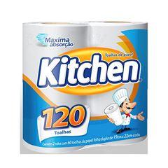 Papel Toalha Kitchen | Com 2 Rolos Cada Um Com 60 Folhas
