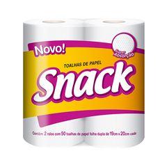 Papel Toalha Snack | Com 2 Unidades Cada Uma Com 50 Folhas