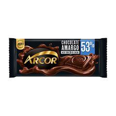 Chocolate Em Barra Arcor Amargo 53% Cacau 80g