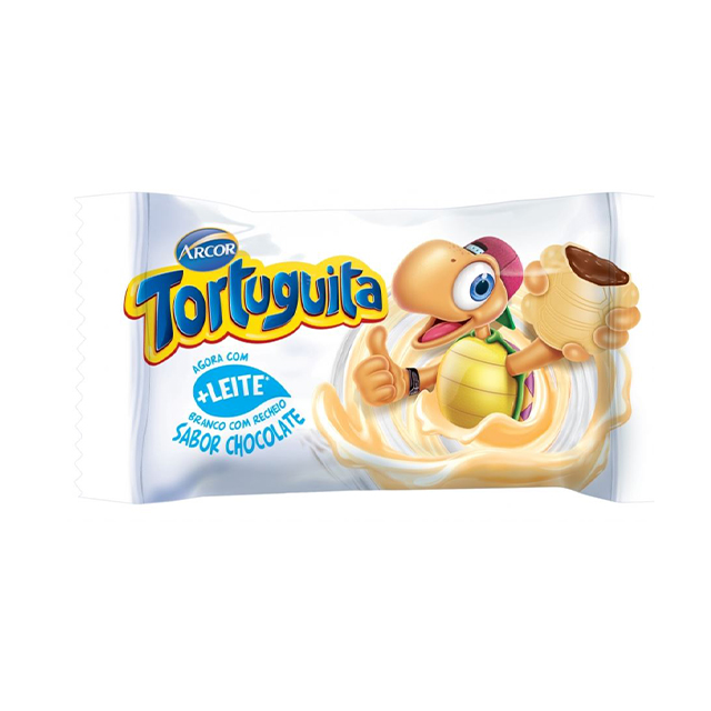 Chocolate Arcor Tortuguita Branca 18g