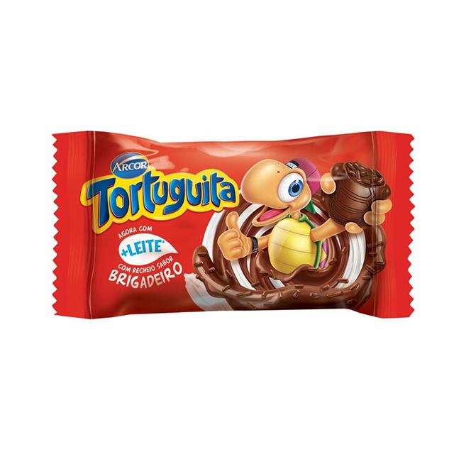 Chocolate Arcor Tortuguita Brigadeiro 19g