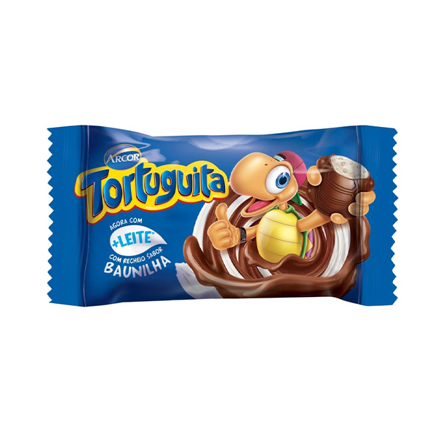 Chocolate Arcor Tortuguita ao Leite 18g