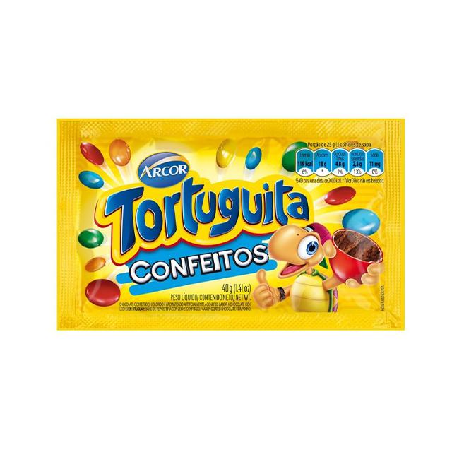 Confeitos Arcor Tortuguita 40g