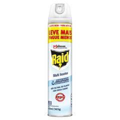 Inseticida Raid Multi-Insetos Spray Aqua Protection Leve Mais Pague Menos 420ml
