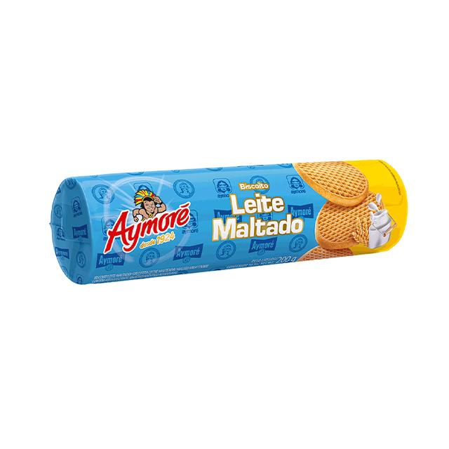 Biscoito de Leite Maltado Aymoré 200g