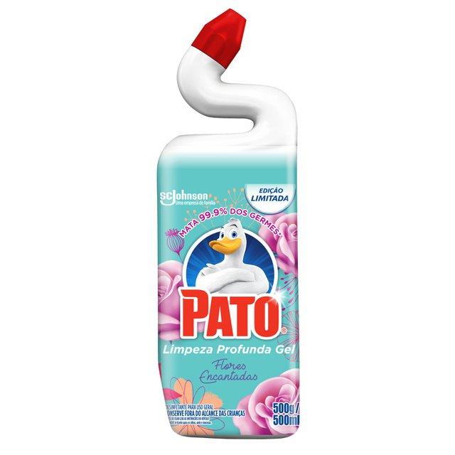 Limpador Sanitário Pato Flores Encantadas Ed. Ltda 500 ml