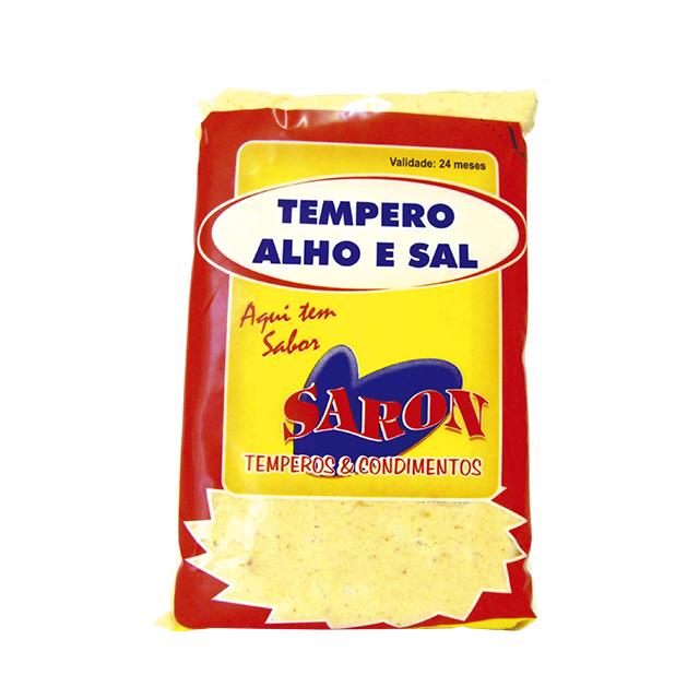 Tempero Alho E Sal Saron 500gr
