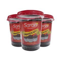 Chocolate Granulado Escuro Saron Copo 150gr