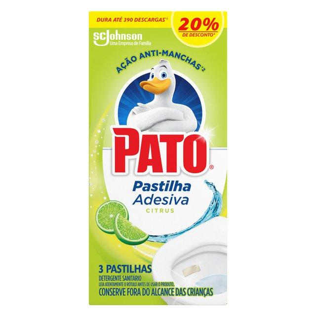 Pato Pastilha Adesiva Citrus C/ 3un Com 20% Desconto