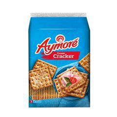 Biscoito Cream Cracker Aymoré Multpack 375g