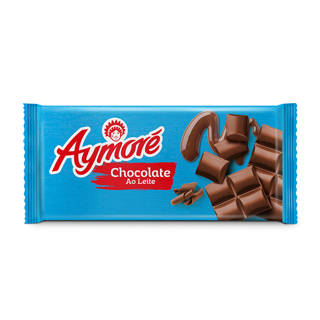 CHOCOLATE ARCOR AYMORÉ AO LEITE 80G