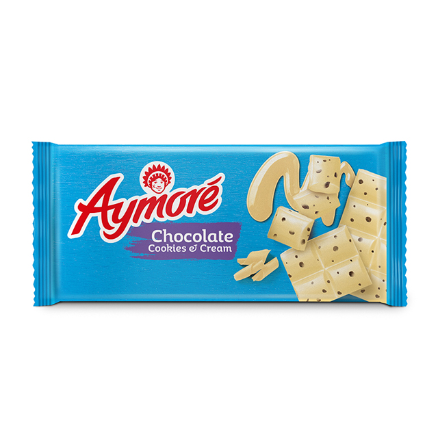 CHOCOLATE ARCOR AYMORÉ COOKIES & CREAM 80G