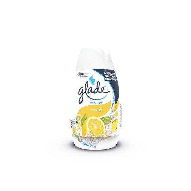 Desodorizador GLADE Super Gel Citrus 170g