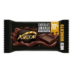 Chocolate Em Barra Arcor Amargo 70% Cacau 20g
