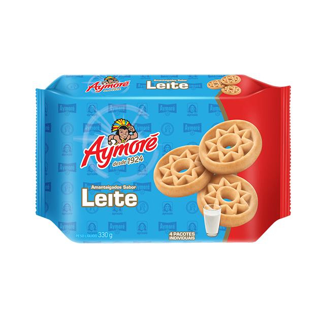 Biscoito Amanteigado Aymoré Leite 330g