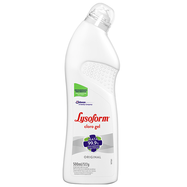 LYSOFORM CLORO GEL ORIGINAL 500ML