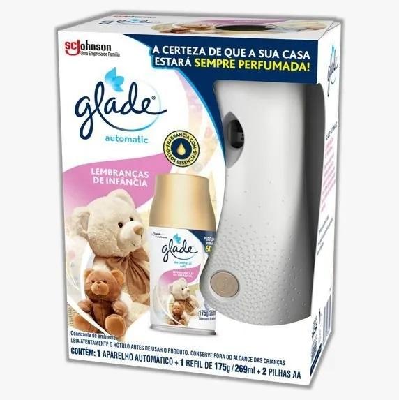 Desodorizador GLADE Automatic Spray Refil L.INFAN 269ml