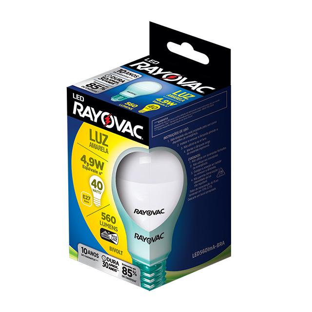 RAY LAMP LED AMARELA 4,9W BI VOLTS