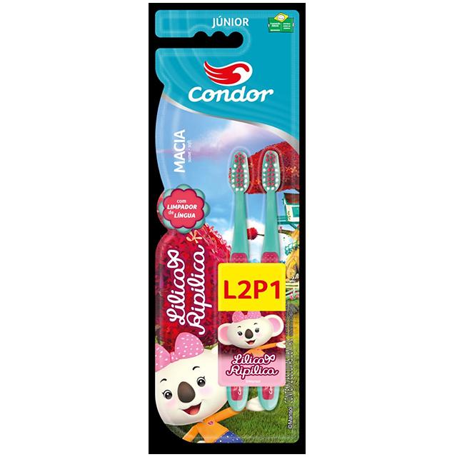 Escova Dental Infantil Condor LILICA