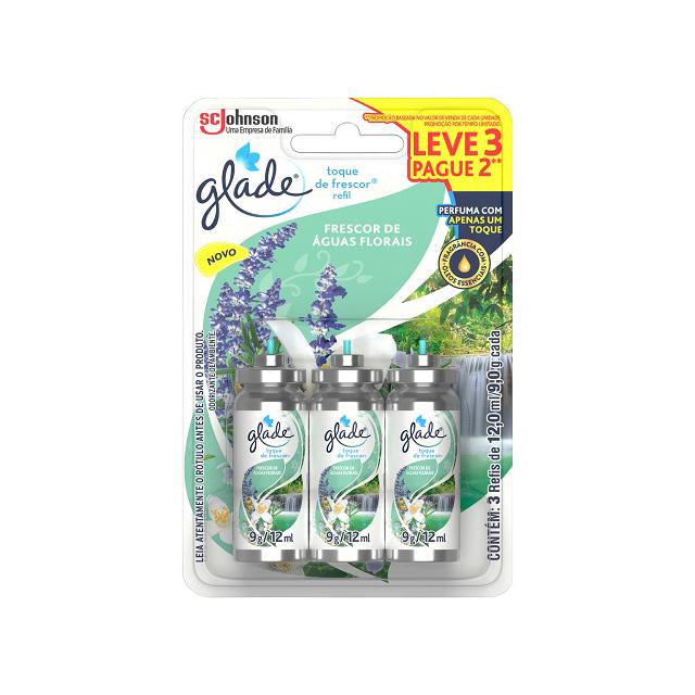 Desodorizador GLADE Automatic Spray Refil AGUAS FLOR 269ml