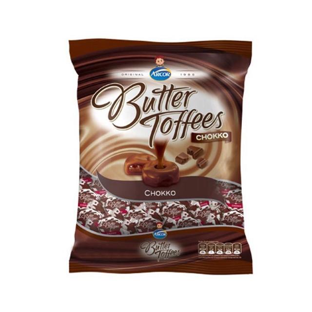 BALA RECHEADA ARCOR BUTTER TOFFEES CHOKKO 500G