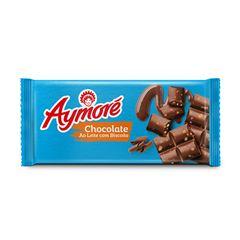 Chocolate Arcor Aymoré Leite C/ Biscoito 80g