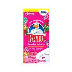 Desodorizador Sanitário Pato Pastilha Adesiva Carrossel 3 Unidades