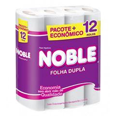 Papel Higiênico Softys Noble  Folha Dupla 20m Leve 12 Pague 11 Unidades