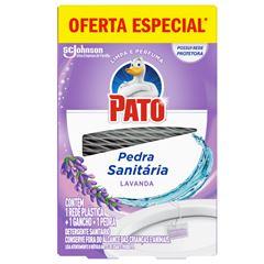 Desodorizador Sanitário Pato Lavanda (1 Rede Plástica + 1 Gancho + 1 Pedra) 25g Com 25% De Desconto