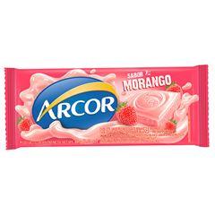 Chocolate Em Barra Arcor Morango 80g