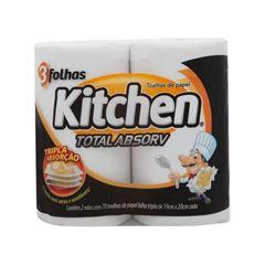 Papel Toalha Softys Kitchen 70 Folhas C/2
