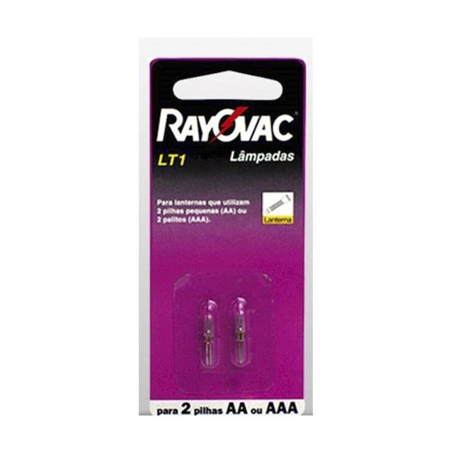 Lâmpada para Lanterna Rayovac Silver LT-1 | Com 2 Unidades